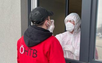 Wöchentliche Testungen durch den Arbeiter-Samariter-Bund Österreich